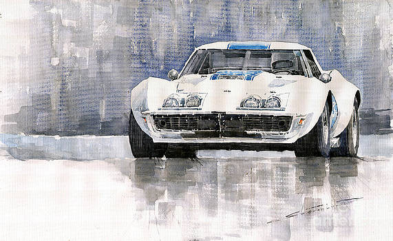 Chevrolet Corvette C3 by Yuriy Shevchuk