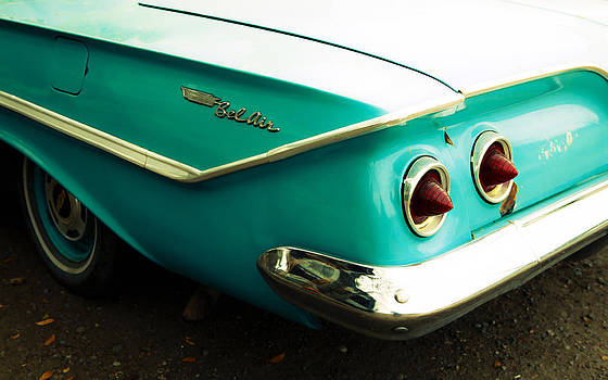 Marilyn Hunt - Chevy Bel Air Fender