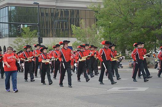 Anne-Elizabeth Whiteway - Cheyenne Parade Marchers