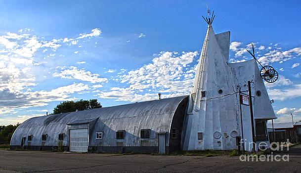 Gregory Dyer - Cheyenne Wyoming Teepee - 01