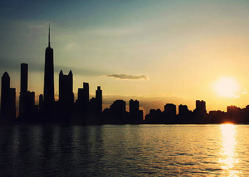 Chicago at Sunset by Jessie Gould