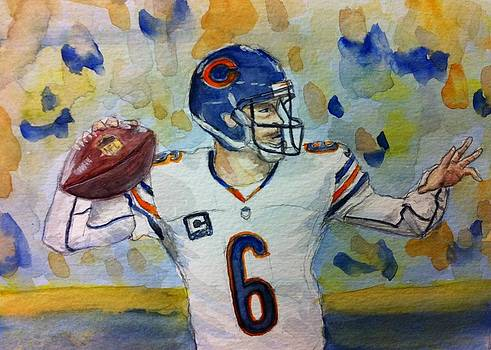 Chicago Bears #6 Jay Cutler by Tiffany Albright