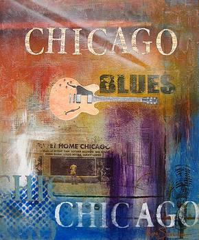 Chicago Blues by Gino Savarino