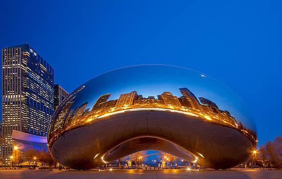 Chicago Cloud Gate-Millennium Park by Jianghui Zhang