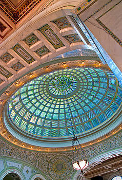 Chicago Cultural Center Tiffany Dome by Kevin Eatinger