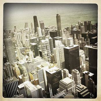 Chicago From Willis Tower by Bradley R Youngberg