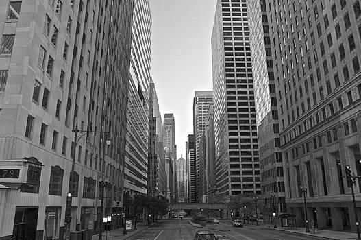 Chicago La Salle Blvd by Galexa Ch