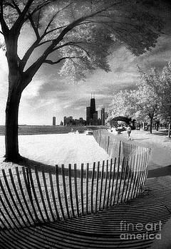 Chicago Lakefront Infrared by Martin Konopacki