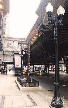 Gregory Dyer - Chicago Loop at Wabash avenue