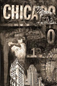 Chicago Memories in Sepia Tones by Joseph Catanzaro