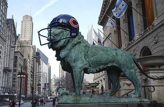 Chicago NFL Chicago Bears  by Patrick  Warneka