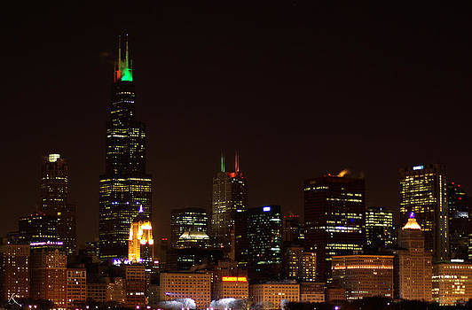 Chicago Night by Kelly Smith