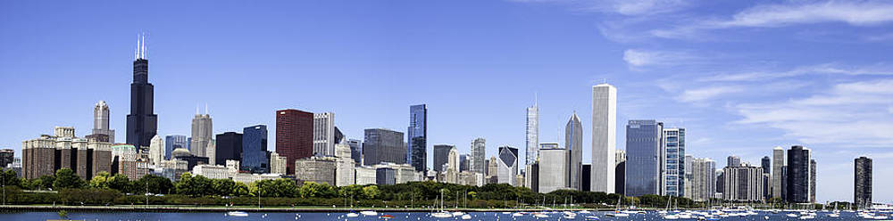 Chicago Pano by Michael  Bennett