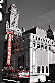 Chicago Sign by Michael Molumby