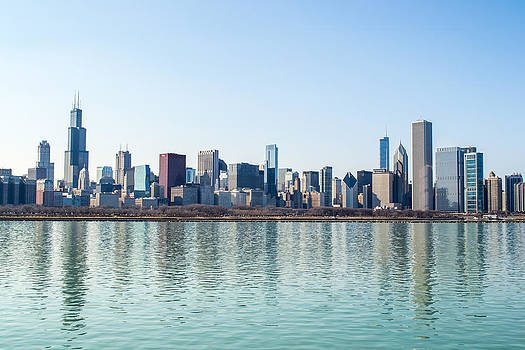 Chicago Skyline 1 by Robert Painter
