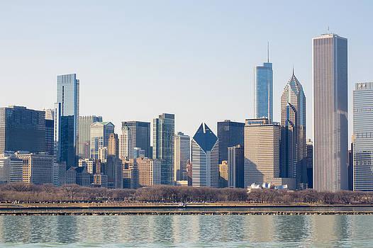 Chicago Skyline 4 by Robert Painter