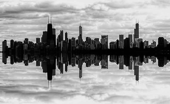 Chicago Skyline by Christopher Broste