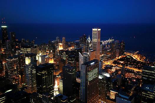 Chicago Skyline by Ken Reardon