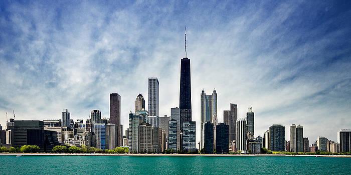 Chicago Skyline by Micah Dimitriadis