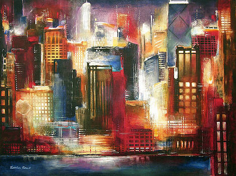 chicago skyline art artwork for sale chicago il