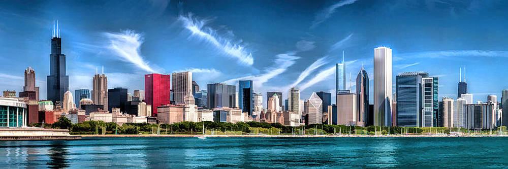 Christopher Arndt - Chicago Skyline Panorama