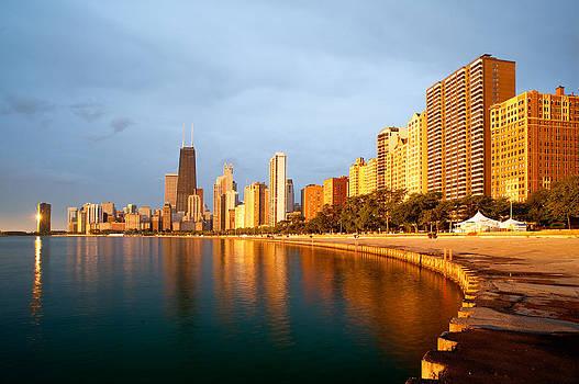 Chicago Skyline by Sebastian Musial