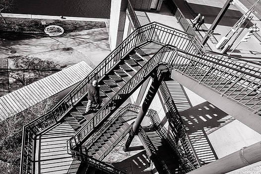 Chicago Stairs by Lidia Sharapova