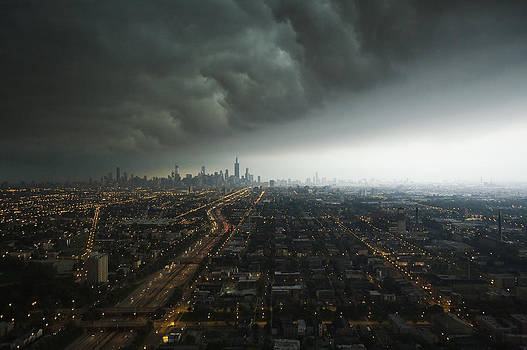 Chicago Storm by Joe Wigdahl