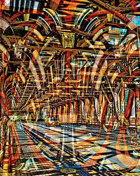 Chicago Taxi by Chuck Brittenham