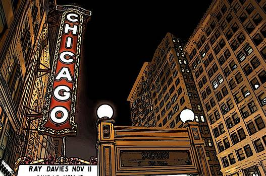 Chicago Theater by Galexa Ch