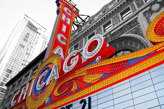 Chicago Theatre by Galexa Ch