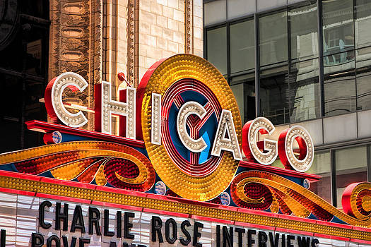 Christopher Arndt - Chicago Theatre Marquee
