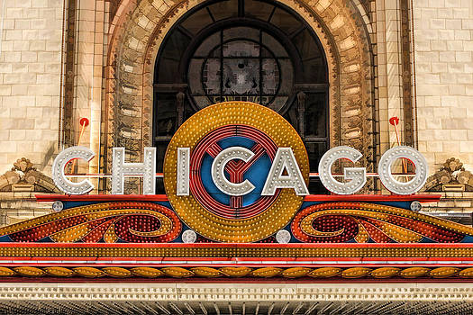 Christopher Arndt - Chicago Theatre Marquee Sign