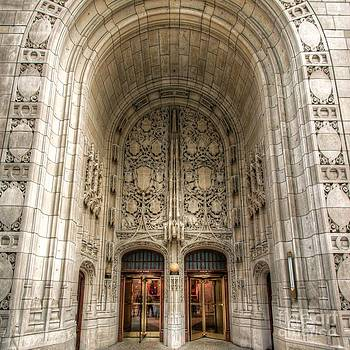 Chicago Tribune Doors by John December