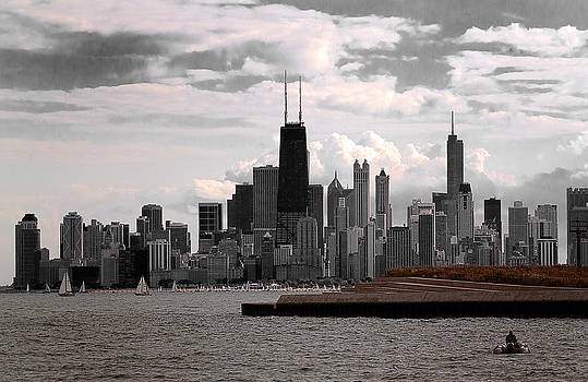 Milena Ilieva - Chicago - view from the lake