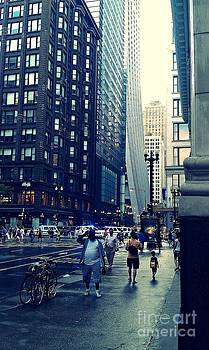 Chicago Wet Streets by Malachi S