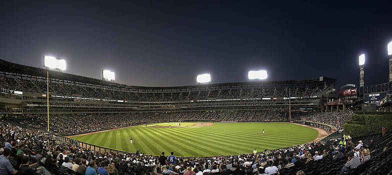 Chicago White Sox Ballpark by Patrick  Warneka