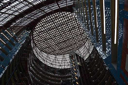 Chicago's Thompson Center Atrium by John Arthur Robinson