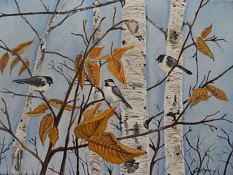 Chickadee-dee-dee by Connie Rowsell
