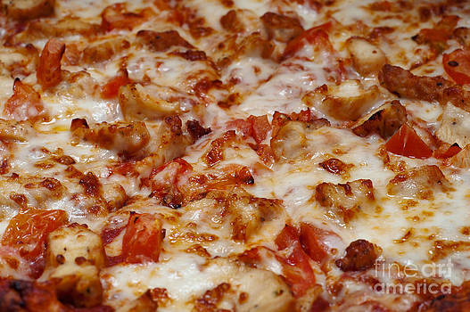 Andee Design - Chicken And Diced Tomato Pizza 1