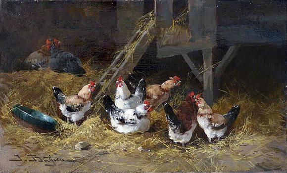 David Lloyd Glover - Chicken Coop Circa 1880