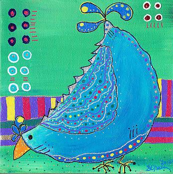 Chicken Doodles Belinda by Sharon Orella