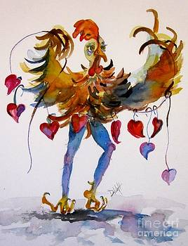 Chicken Love by Delilah  Smith