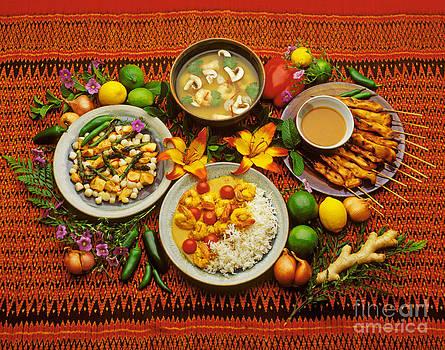 Craig Lovell - Chicken Satay Shrimp Soup and Shrimp Curry