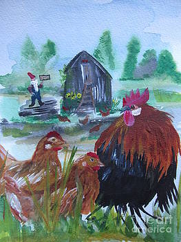 Chicks Welcome by Susan Snow Voidets