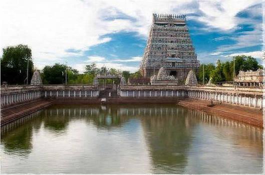 Chidambaram Temple by Shiva G
