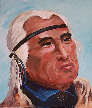 Chief Dan George by Barbara Sudik