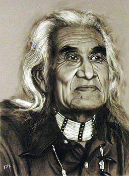 Chief Dan George - Tes-Wah-no by Rick Fitzsimons