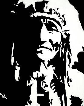 Chief Half In Darkness by HJHunt