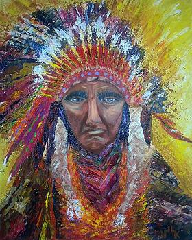 Chief Joseph by Lettie Krell